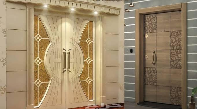 Царговые двери в интерьере