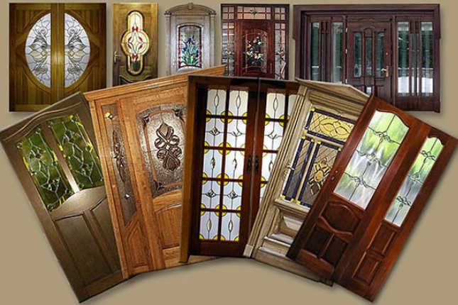 Царговые двери фото