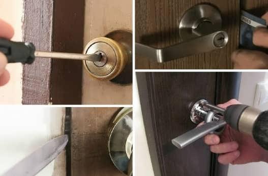 Как открыть дверь без ключа в комнату