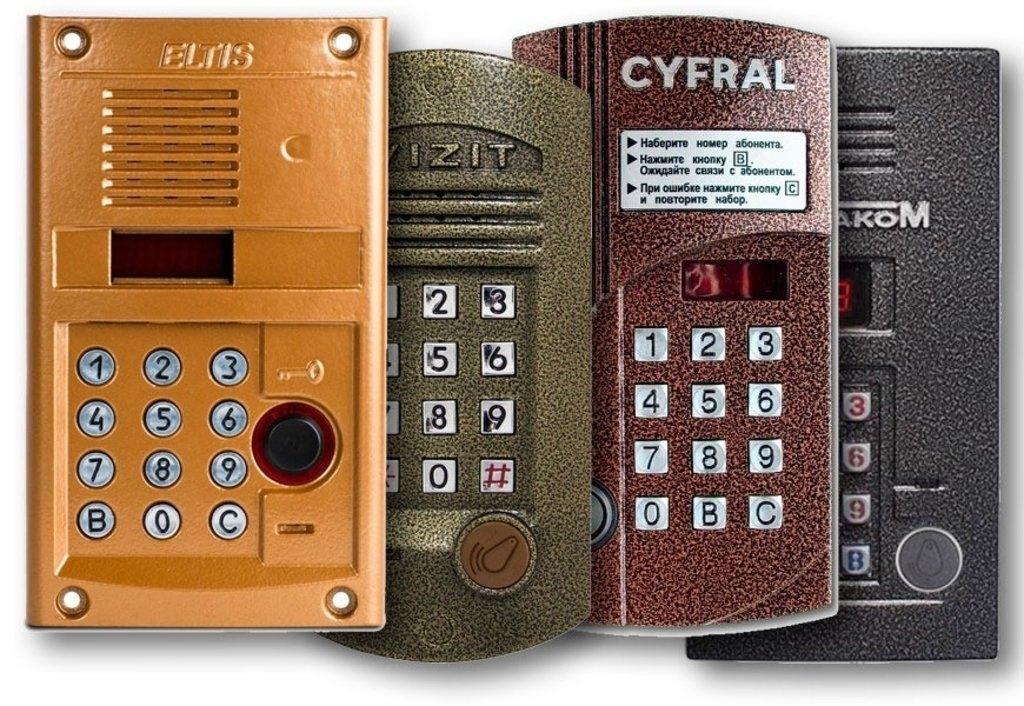 Как открыть домофон Cyfral моделей 20 и 2094 без ключа