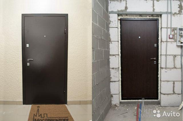 Монтаж стальной двери
