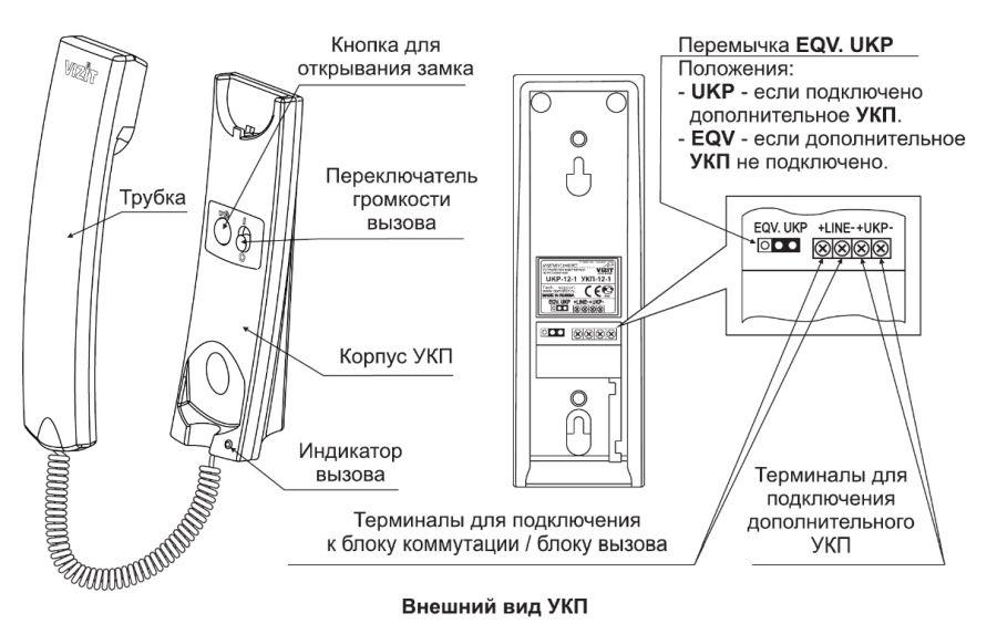 схема соединения домофона для квартиры