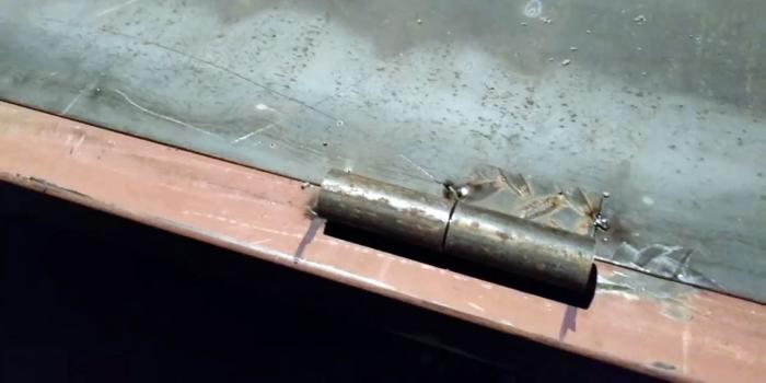 как варить петли на калитку