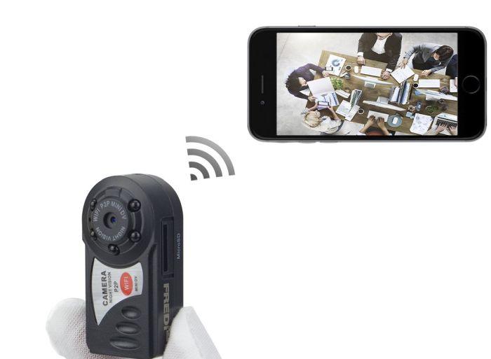 мини камера видеонаблюдения без проводов