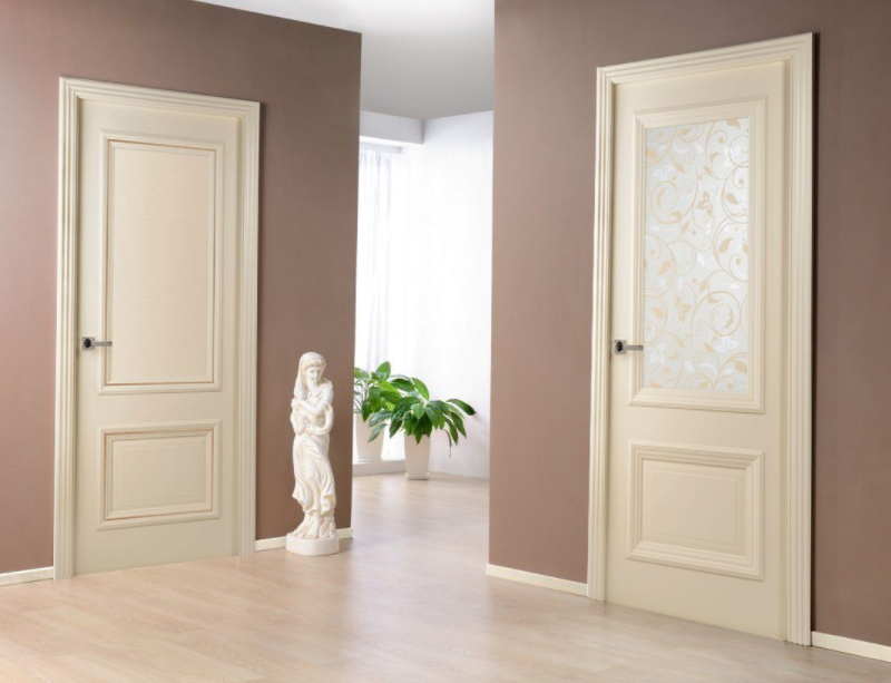 двери беленый дуб фото