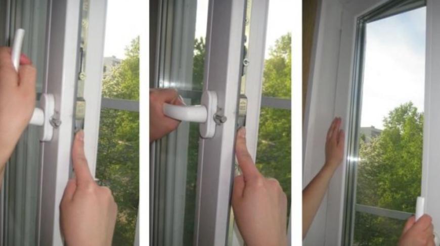неправильно открылось пластиковое окно как закрыть