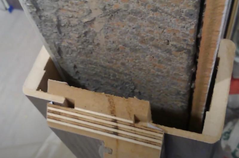 как установить телескопическую коробку межкомнатной двери