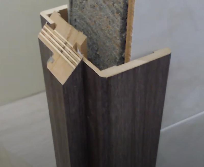 как собрать телескопическую дверную коробку межкомнатной двери
