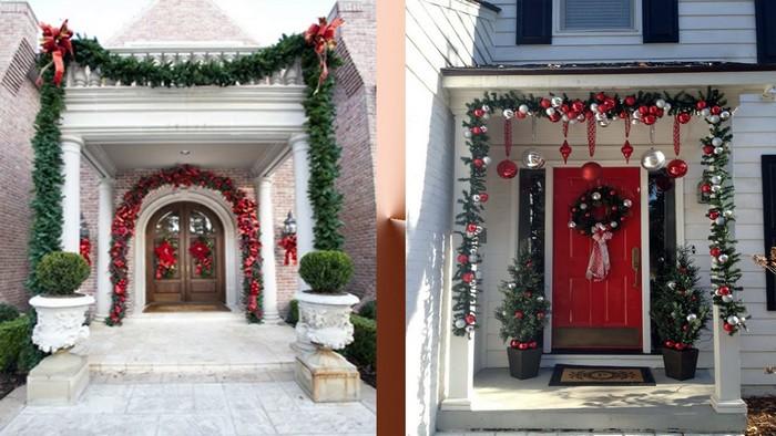 Чем отличаются украшения межкомнатных и входных дверей